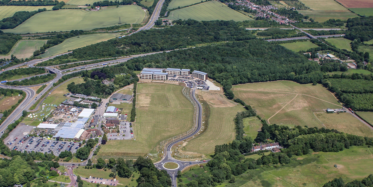 Kent Medical Campus aerial1