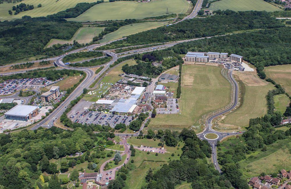 Kent Medical Campus - aerial and successful bid (2)