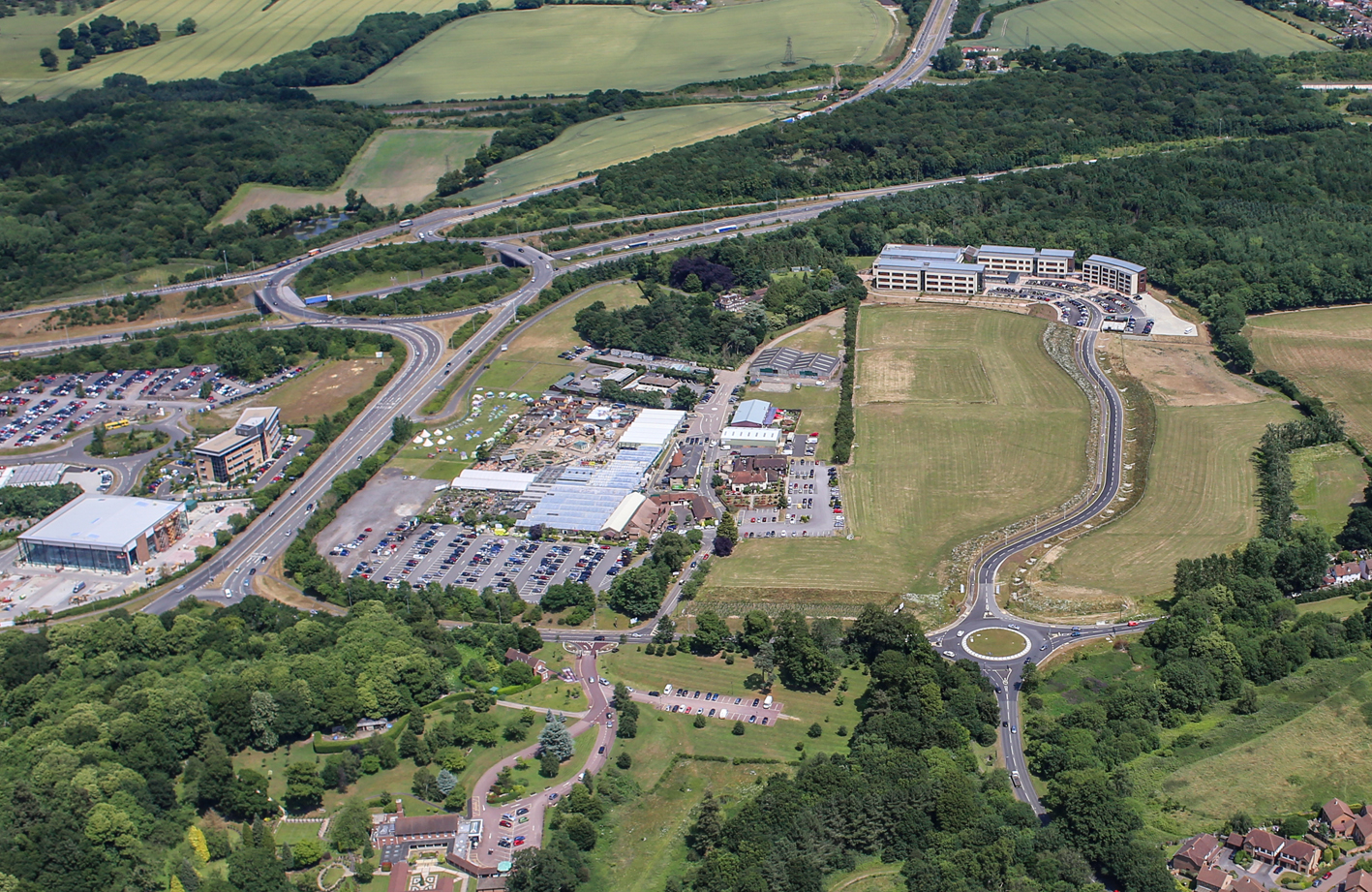Kent Medical Campus - aerial and successful bid (2)
